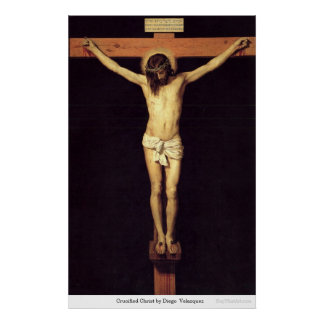 Crucified Christ by Diego Velazquez Print