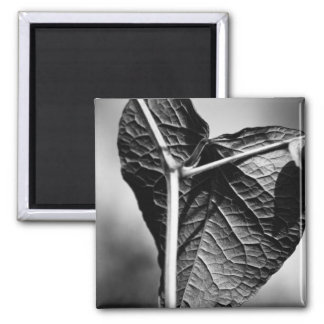crucified heart 2 inch square magnet