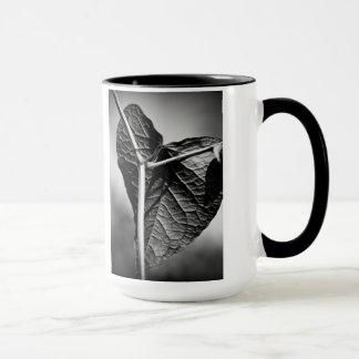 crucified heart mug