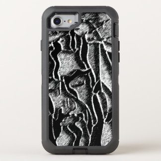 Crucified Sketched OtterBox Defender iPhone 8/7 Case