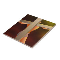 Crucified Tile