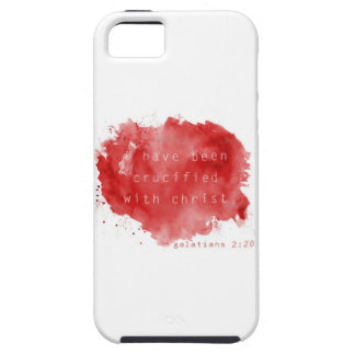 Crucified with Christ iPhone SE/5/5s Case