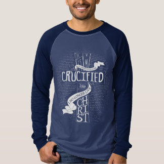 Crucified With Christ - Mens Long Sleeve T-Shirt