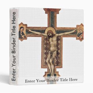 Crucifijo de Cristo con Maria y Juan por Martini S