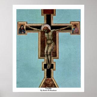 Crucifijo de Giotto Di Bondone Posters