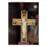 Crucifijo del relicario, Cristo de marfil en cruz  Felicitación