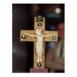Crucifijo del relicario, Cristo de marfil en cruz  Tarjetas Postales