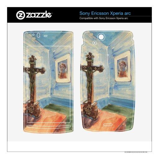Crucifijo en el cuarto de Gualterio Gramatte Xperia Arc Skin