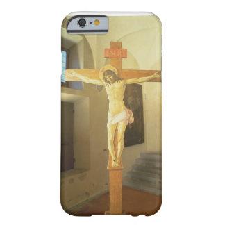 Crucifijo (tempera en la madera) funda para iPhone 6 barely there