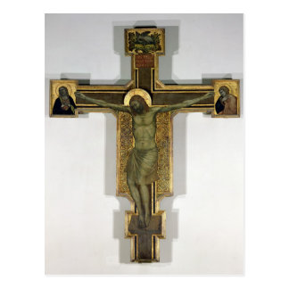 Crucifix 2 post card