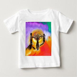 Crucifix. Baby T-Shirt