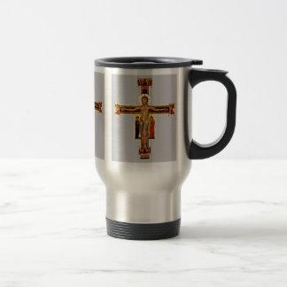 Crucifix By Berlinghieri Berlinghiero Coffee Mugs