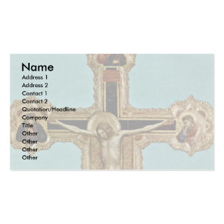 Crucifix In The Arena Chapel In Padua Business Card Templates