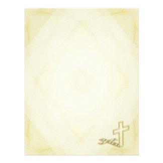 Crucifix Letterhead