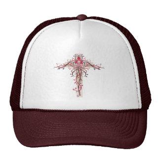 Crucifix Mesh Hat