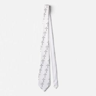 crucifix neck tie
