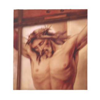 Crucifix Notepad
