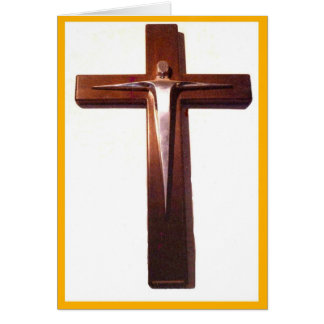Crucifix of the Risen Christ Greeting Card