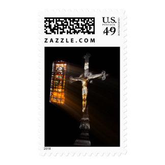 Crucifix Postage
