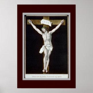 Crucifix Print