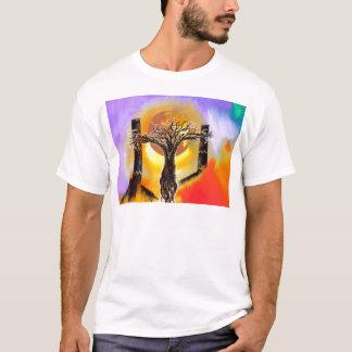 Crucifix. T-Shirt