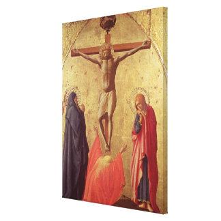 Crucifixión, 1426 impresión en lienzo