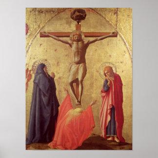 Crucifixión, 1426 póster