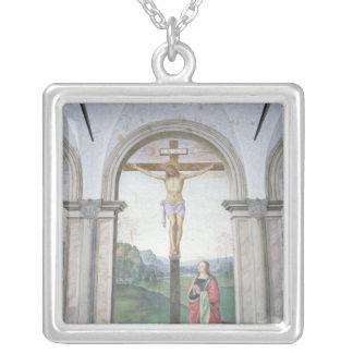 Crucifixión, 1493-6 collar plateado