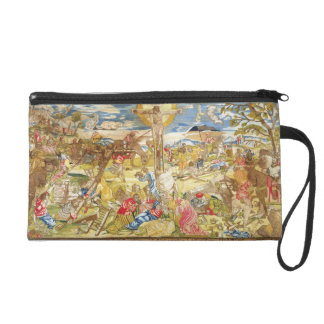 Crucifixion, 1609 (embroidery) wristlet clutch