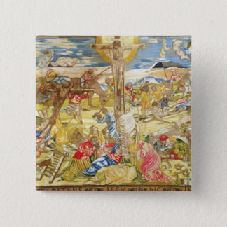 Crucifixion, 1609 (embroidery) button