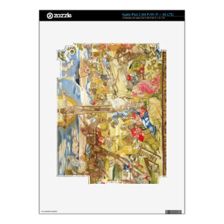 Crucifixion, 1609 (embroidery) decal for iPad 3