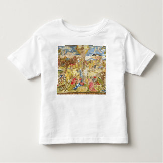 Crucifixion, 1609 (embroidery) toddler t-shirt
