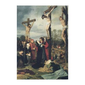 Crucifixion, 1873 canvas print