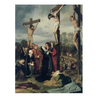Crucifixion, 1873 postcard