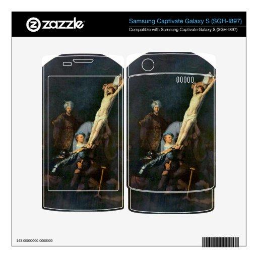 Crucifixion 2 by Rembrandt Harmenszoon van Rijn Samsung Captivate Skin