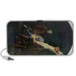 Crucifixion 2 by Rembrandt Harmenszoon van Rijn Laptop Speakers
