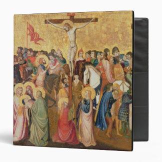 Crucifixion 3 Ring Binder