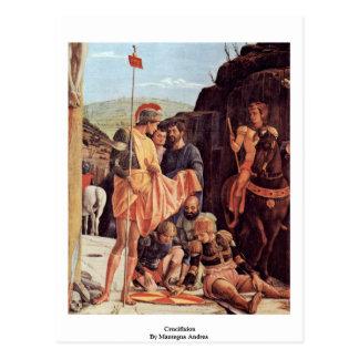 Crucifixion  By Andrea Mantegna Postcard