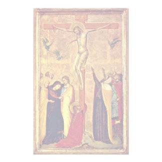 Crucifixion By Daddi Bernardo Stationery