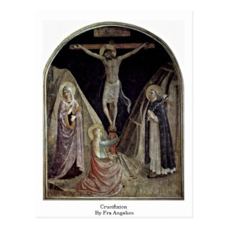 Crucifixion By Fra Angelico Postcard