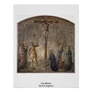 Crucifixion By Fra Angelico Poster