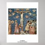 Crucifixion By Giotto Di Bondone Poster
