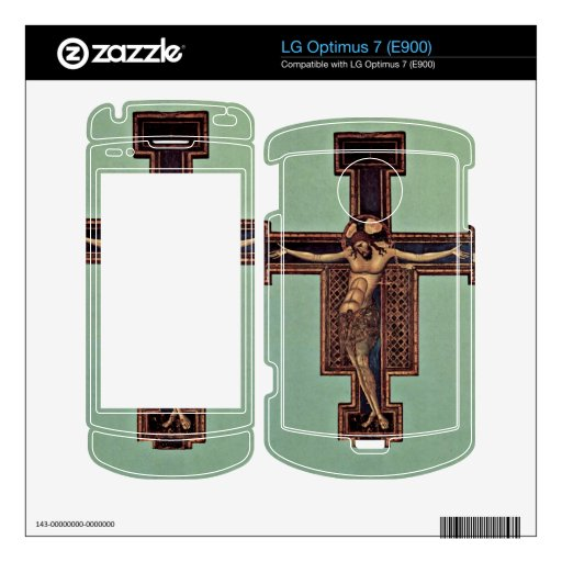 Crucifixion by Giunta Pisano Decal For LG Optimus 7