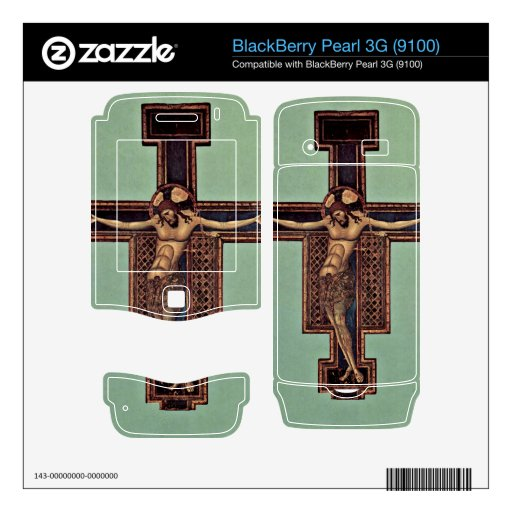 Crucifixion by Giunta Pisano Decals For BlackBerry