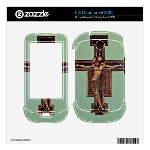 Crucifixion by Giunta Pisano Decal For The LG Quantum