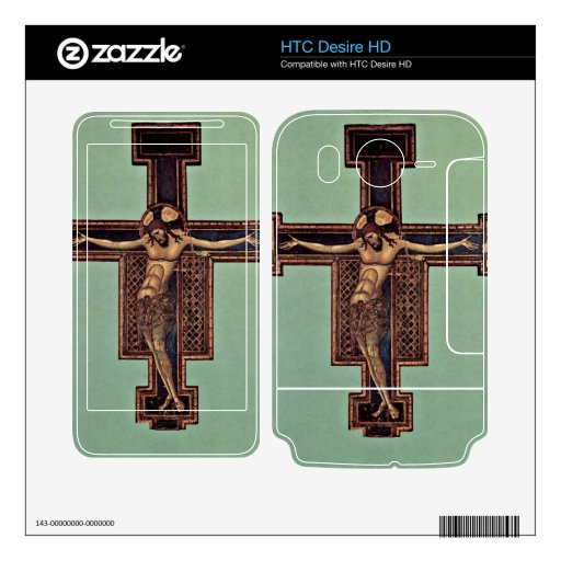 Crucifixion by Giunta Pisano HTC Desire HD Decal