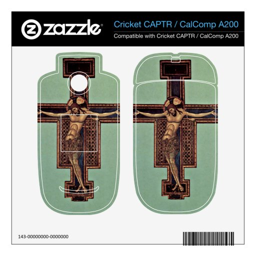 Crucifixion by Giunta Pisano Cricket CAPTR Decal