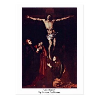Crucifixion By Jusepe De Ribera Postcard
