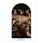 Crucifixion By Lorenzo Lotto Post Card