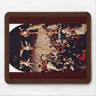 Crucifixion By Lotto Lorenzo (Best Quality) Mouse Pad